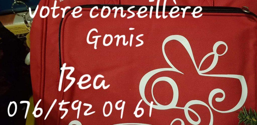 Votre conseillère GONIS,Béa au 076 592 09 61